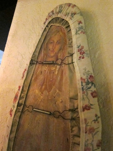 Mother Mary on an Ironing Board