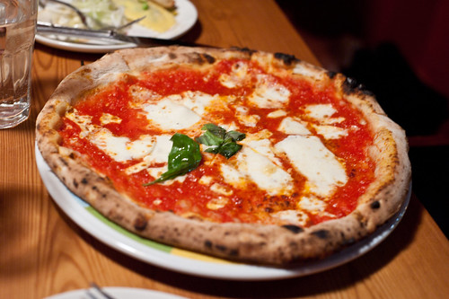 Pizza Margherita-Eataly, New York