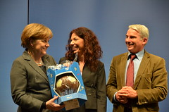"Angela Merkel, Lisa Federle, Thomas Strobel • <a style=""font-size:0.8em;"" href=""http://www.flickr.com/photos/55801493@N08/5483123990/"" target=""_blank"">View on Flickr</a>"
