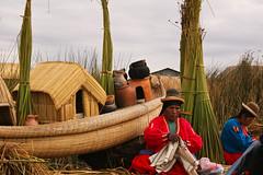 Titicaca (Miradas.com.br) Tags: trip travel viaje people lake peru uros titicaca southamerica indgenas totora landscape lago islan