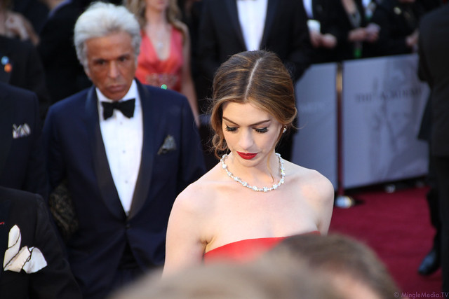 Anne Hathaway at the 83rd Academy Awards Red Carpet IMG_0954 by MingleMediaTVNetwork