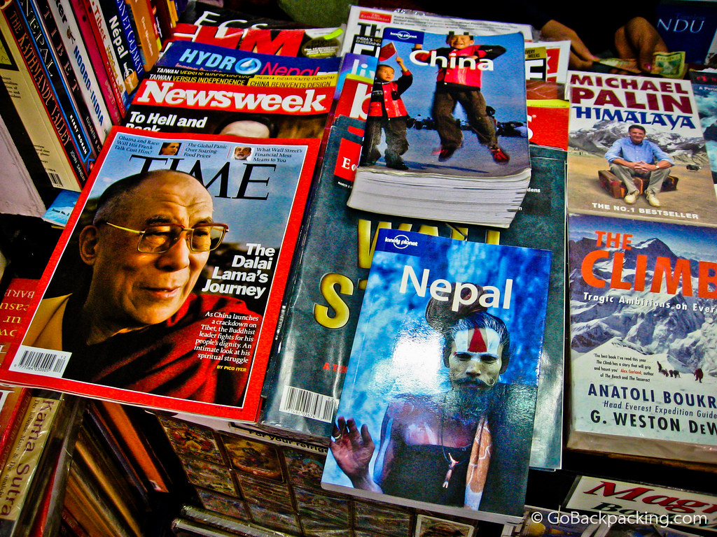 Trading Lonely Planet China for Nepal