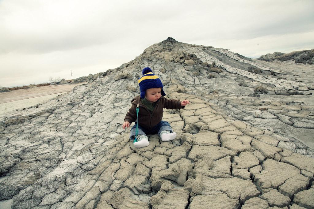 Jackson at the Mudpots