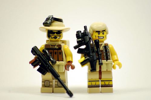 Custom minifig Mercenaries