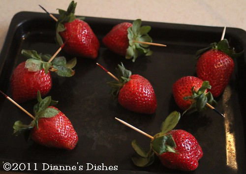 Chocolate Covered Strawberries: Ready to Dip
