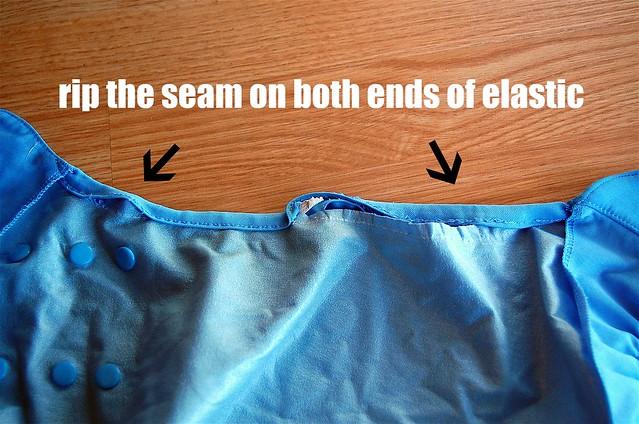 rip the seam
