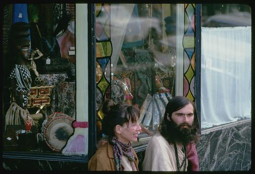 Hippies on Haight - San Francisco, California