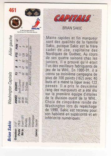 Brian Sakic back