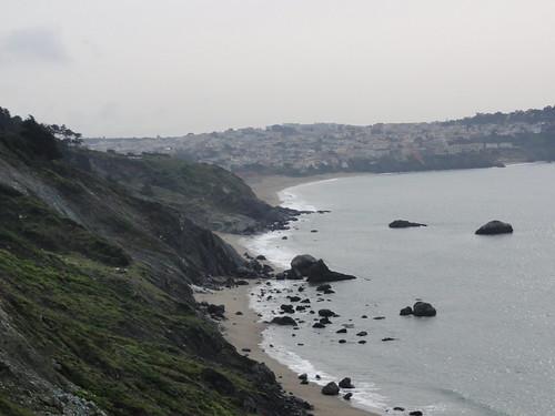 Pacific coastline at San Francisco