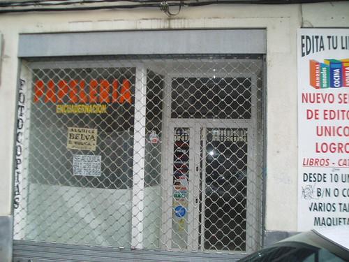 Comercio cerrado Logroño Calvo Sotelo