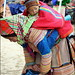 Bac Ha, Flower Hmong girl and baby