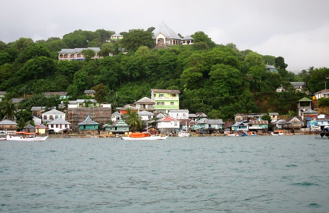 Labuan Bajo From The Sea