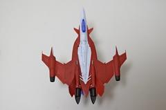 1/100 YF-29 デュランダル スミ入れ有無比較
