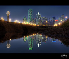Downtown Reflection (Cliff_Baise) Tags: