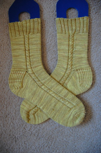 FO: Cabled Socks