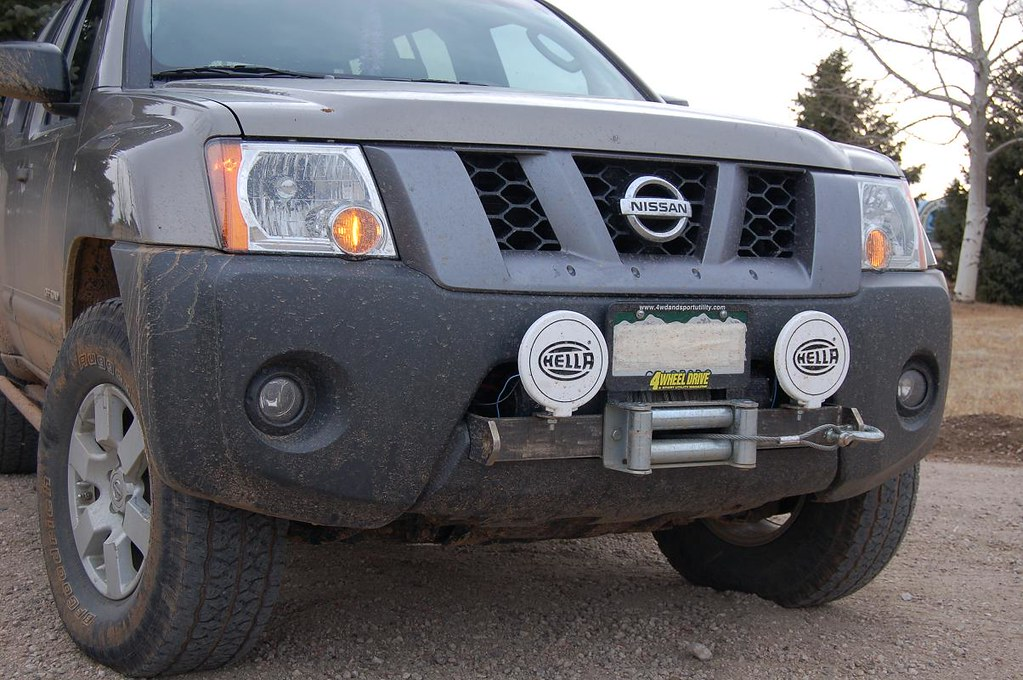 Mps Rockymtnx Factory Bumper Winch Mount Second