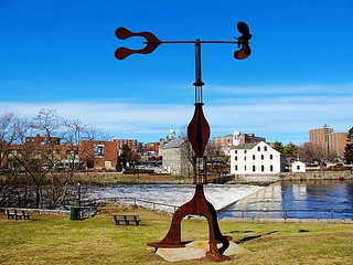 Donald Gerola Sculpture in Pawtucket, Rhode Island