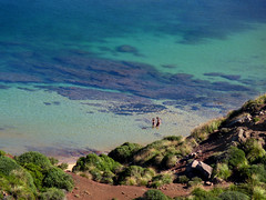 A View from above on Cala del Pilar (Bn) Tags: blue red sea moon holiday beach water forest swimming swim landscape geotagged island back spain sand woods topf50 mediterranean crystal cove dunes dune azure rocky peaceful lagoon calm unesco formation clear virgin caves pines transparency limestone vegetation nudist coastline remote calas nudity bays climate isolated menorca laid secluded minorca reddish unspoiled balearic maan watercrystal hillsides naturists 50faves nuturism caladelpilar coastlinenatural environmentsunescobiosphere reservemediterranean geo:lon=3980715 geo:lat=40050388 goemenorca waterparadiseparadise beachspainbalearicsmenorcaturquoise blueminorcabalearic islandsrocky