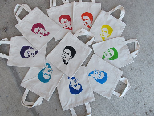 A rainbow of Frida