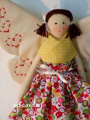 Fada Magricela pequena (AP.CAVALARI / ANA PAULA) Tags: baby flower angel doll handmade embroidery decoration fairy bebe handmake decorazione dekoration fadas handgemacht hechoamano fadinha handarbeit feitoamao fattiamano anapaulacavalari apcavalari