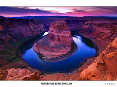 Horseshoe bend, Page AZ (Dmitri007) Tags: arizona desert canyon coloradoriver redrocks desertsunset horseshoebend pageaz arizonalandscape pageinspring