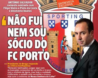 Salvador em Entrevista ao jornal O JOGO