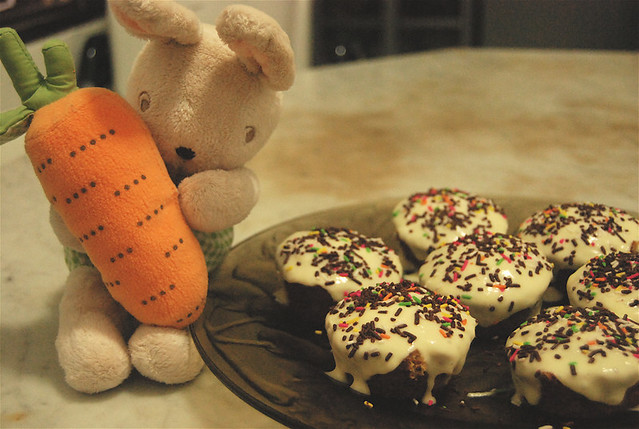 carrot (cup)cakes