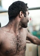 OT201008100170 (Olivier Timbaud) Tags: hairyman hairytorso iranianman barechestedman iraniansailor hommeiranien
