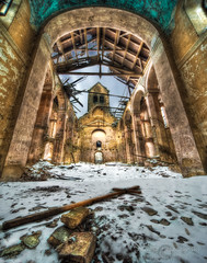 Where the alter used to be  …. Stare Jaroszewice , close to Boleslawiec , Poland (janusz l) Tags: old church sadness destruction memories poland steeple stare alter understanding ruined janusz boleslawiec leszczynski widowmakers dengues 030259 wherethealterusedtobe jaroszewice