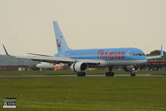 G-CPEV - 29943 - Thomson Airways - Boeing 757-236 - Luton - 100518 - Steven Gray - IMG_2193