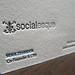 Socialesque Letterpress Business Cards