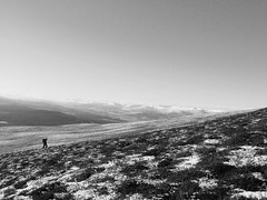 lone walker. Feshiebridge (Gary ( Gaz ) Simpson) Tags: mountains nature rural walking landscape scotland scenery isleofskye scenic hills climbing forests scottishwildlife munrobagging scottishwinter scotishscenery scotlandscoast