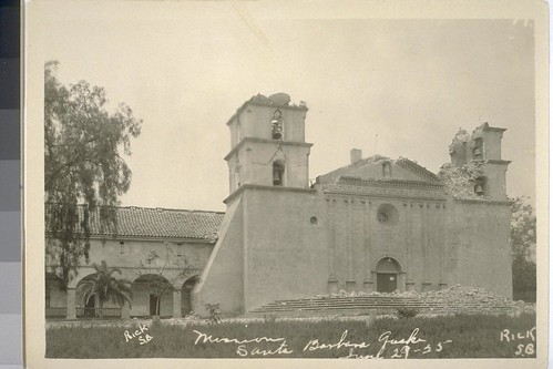 Earthquake Santa Barbara 1925 OAC 1