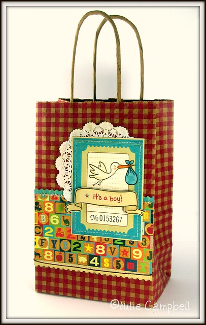 JULIE baby boy gift bag