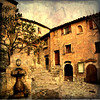 Medieval town square (texturedJohn) Tags: france cotedazur provence èze magicunicornverybest selectbestexcellence magicunicornmasterpiece sbfmasterpiece