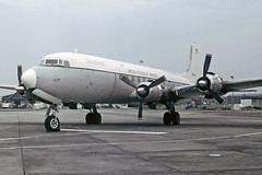 VC118A 53-3266 USAF (shanairpic) Tags: military usaf dc6 propliner c118 533266