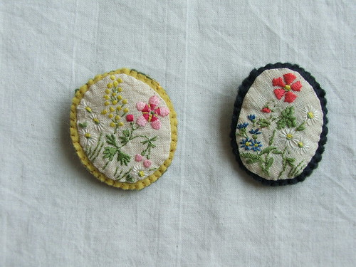sprig brooches