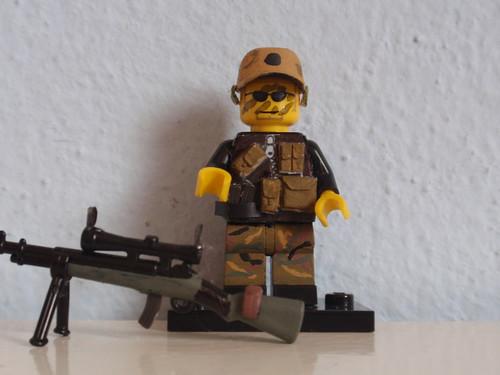 Custom minifig US Special Forces Sniper custom lego minifigure