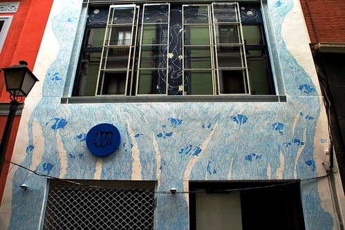 fachada del edificio numero 4 de la ballesta