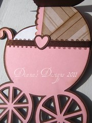 "Baby Carriage Card - ""Hello Baby"""
