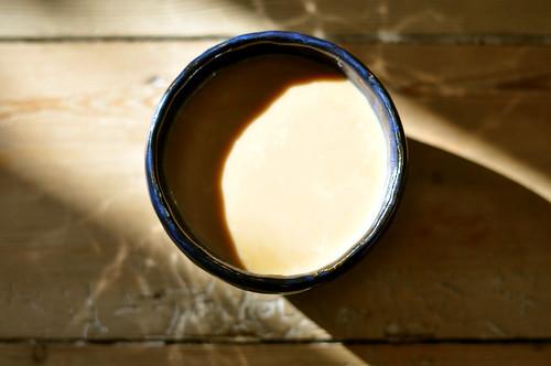 Kaffe med fløde