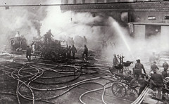 Steamers, Gorter, And Hose wagon Circa 1890s-1900s