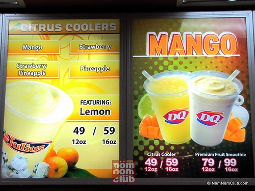 Dairy Queen Smoothies & Citrus Coolers