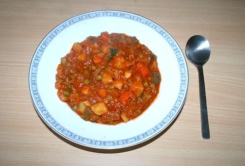 47 - Lammeintopf / Lamb stew - Gericht-serviert