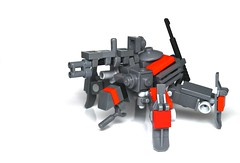 """RDY-5 """"Black Widow"""" (r. Randomness) Tags: yards brick army drive robot spider iron lego dr military attack scout randomness camo special suit armor future guns fi built sci mecha forces bot mech sentry drone fourlegged recon multiped assualt brickarms"""