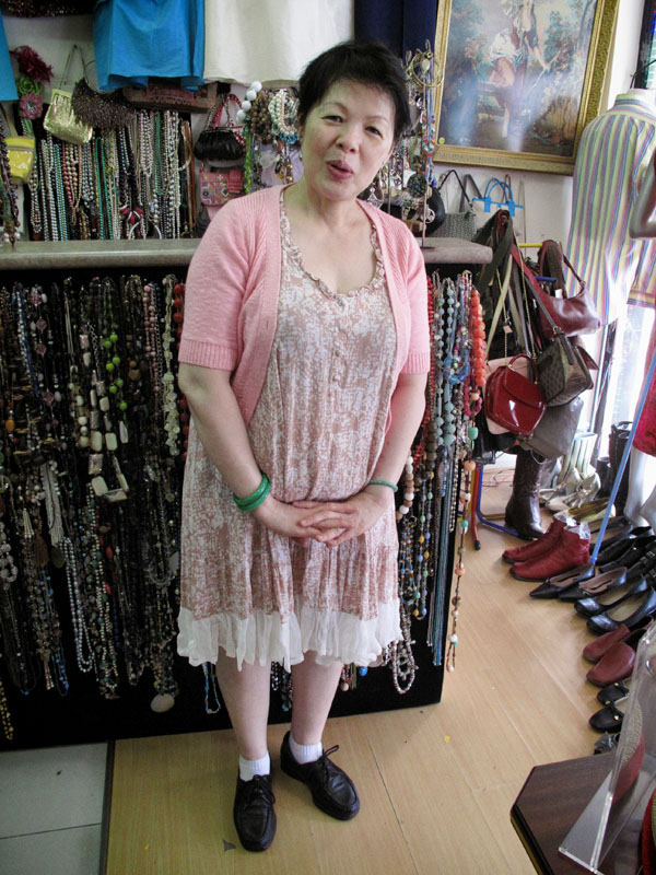 Kwan at YHK Vintage Fashion Marrickville, Street Fashion Sydney