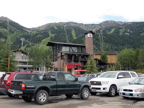 Jackson Hole Ski Resort in Summer