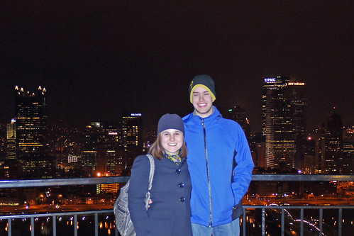 Pittsburgh Skyline - Adam and Caitlin