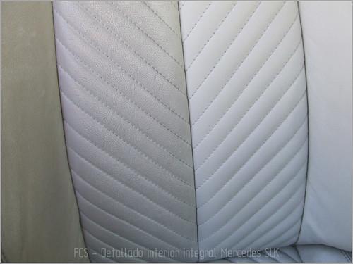 Mercedes SLK detallado interior-13