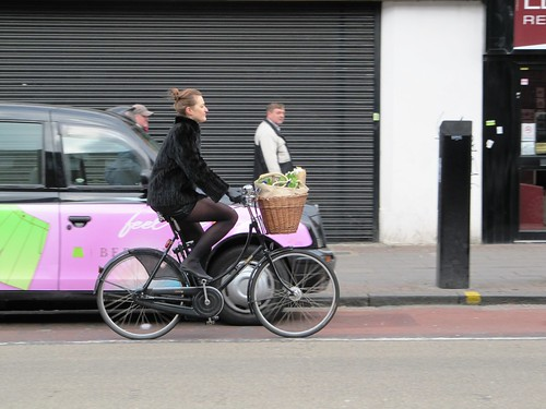 Bethnal Green bike belle